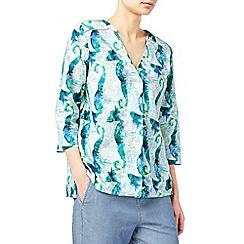 Dash - Seahorse blouse