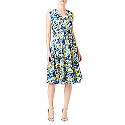 Precis - Petite printed wrap dress