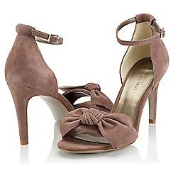 Jacques Vert - Suede Bow sandals