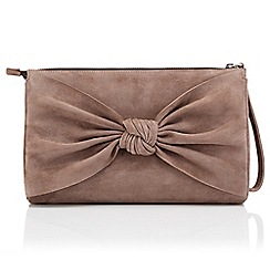 Jacques Vert - Suede Bow bag