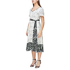 Jacques Vert - Hanky hem tile printed dress