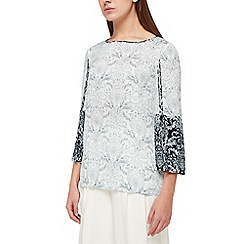 Jacques Vert - Tile printed boarder top
