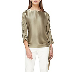 Jacques Vert - Tie side fringed top