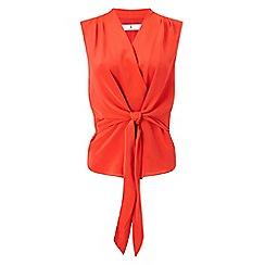 Jacques Vert - Tie front sleeveless top
