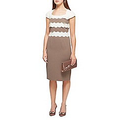Jacques Vert - Emily layered scallop dress