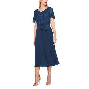 Jacques Vert Maisie lace and chiffon  dress