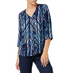 Dash - Jungle Blues blouse