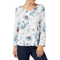 Dash - Thistle whisp blouse