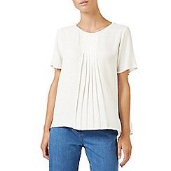 Dash - Pintuck short sleeves Blouse