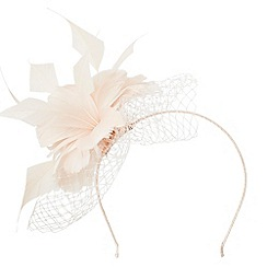 Precis - Feather Mesh Fascinator
