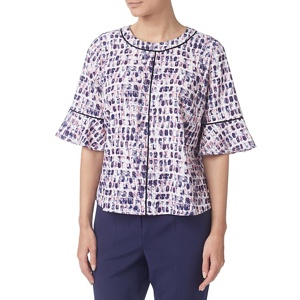 Eastex Flute sleeved blouse