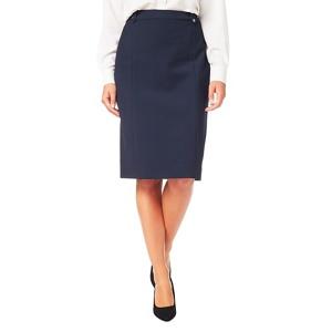 Eastex Textured crepe pencil skirt