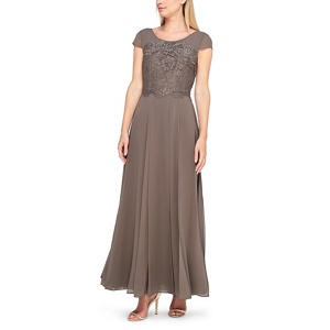 Jacques Vert Morena lace and chiffon maxi dress