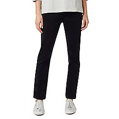 Dash - Black cord regular trousers