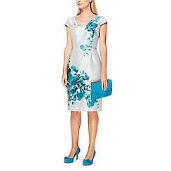 Jacques Vert - Helena shantung floral print dress