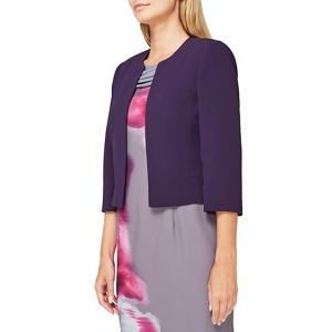 Jacques Vert Purple crepe jacket