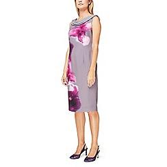 Jacques Vert - Paloma printed drape cowl dress