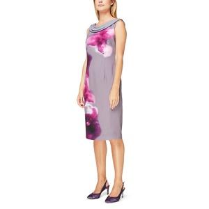 Jacques Vert Paloma printed drape cowl dress