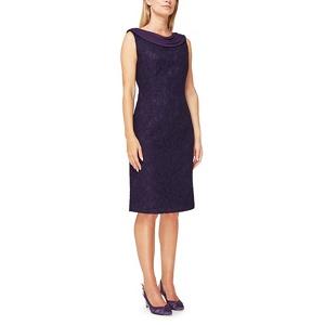 Jacques Vert Paloma lace drape dress