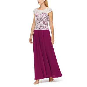 Jacques Vert Maxine maxi embroidered dress