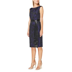 Jacques Vert Bianca jacquard dress