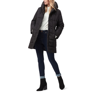 Jacques Vert Macy long padded coat