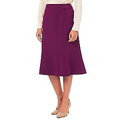 Eastex - Merlot fit and flare skirt
