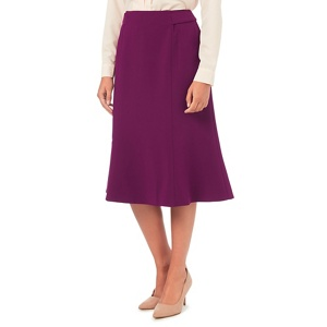 Eastex Merlot fit and flare skirt