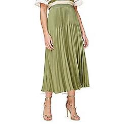Jacques Vert - Varigated plisse skirt