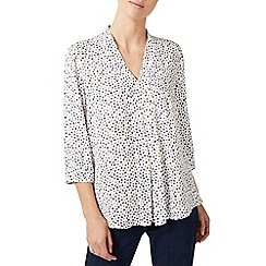 Dash - Small floral texture blouse