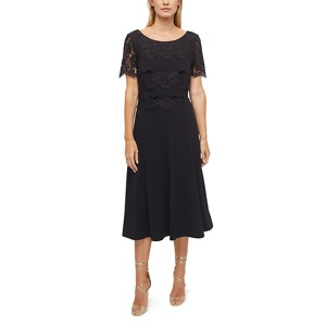 Jacques Vert Carlene Crepe Layer Dress