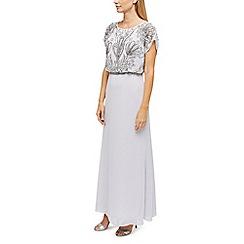 Jacques Vert - Thalia beaded top maxi dress