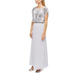 Jacques Vert Thalia beaded top maxi dress