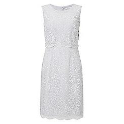 Precis - Petite lace bodice dress