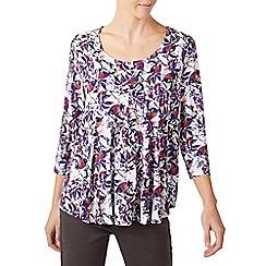 Dash - Floral print jersey top