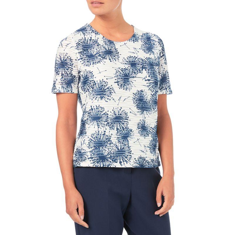 Eastex Burnout Dandelion jersey top