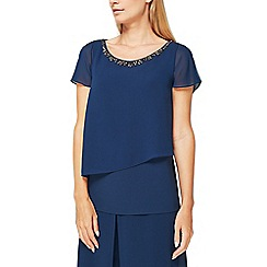 Jacques Vert - Zoe embellish neck blouse