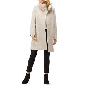 Jacques Vert Florence herringbone coat