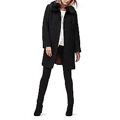 Jacques Vert - Molly sparkle fur trim coat