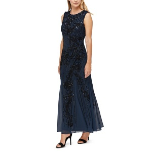 Jacques Vert Tyra heavy beaded gown