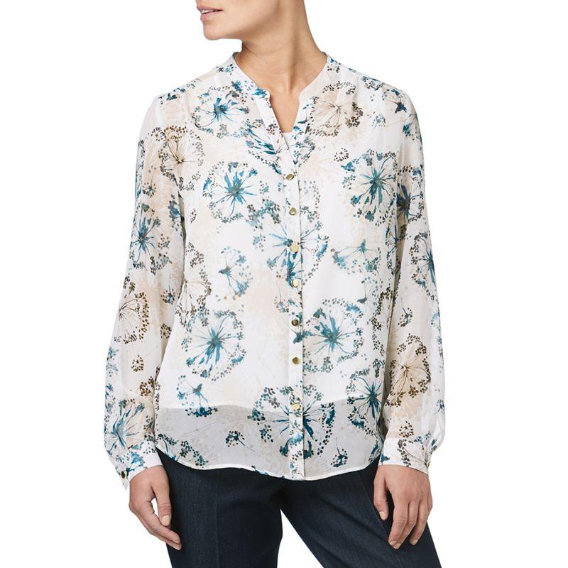 Eastex Dandelion clipped dobby blouse