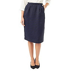 Eastex - Jacquard pencil skirt