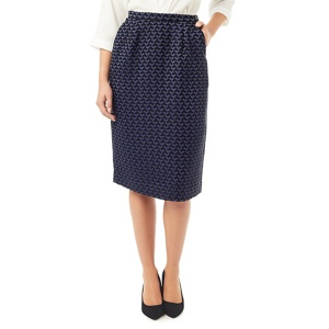 Eastex Jacquard pencil skirt