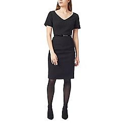 Precis - Petite tailored textured dress