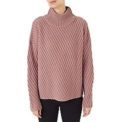 Dash - Diagonal stripe texture jumper