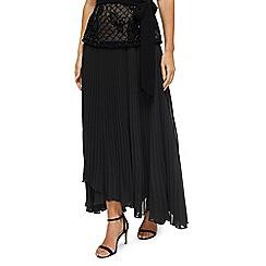 Jacques Vert - Sara wrap pleat maxi skirt
