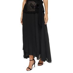 Jacques Vert Sara wrap pleat maxi skirt