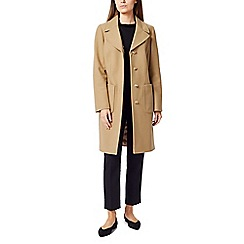 Precis - Macey petite fur collar coat