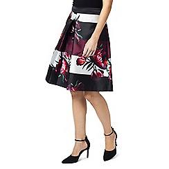 Precis - Petite tulip print prom skirt