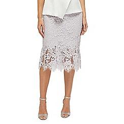 Jacques Vert - Gabrielle lace flippy skirt